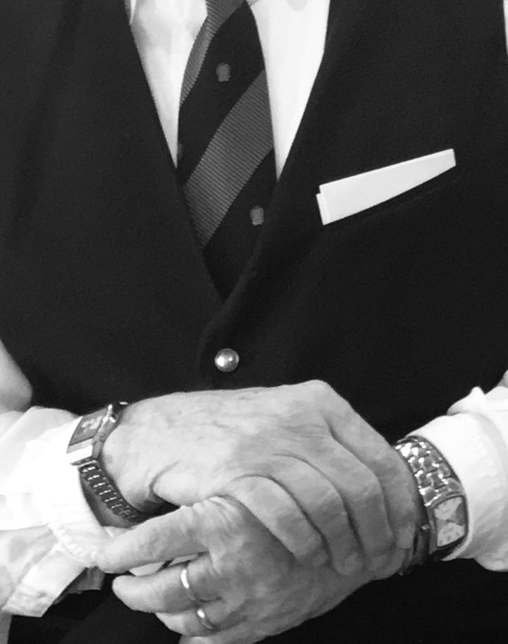 Portrait of a Professional Waiter: Luigi Orelli