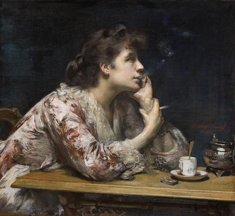 Dans le Bleu: Candor in Cigarettes & Crimson