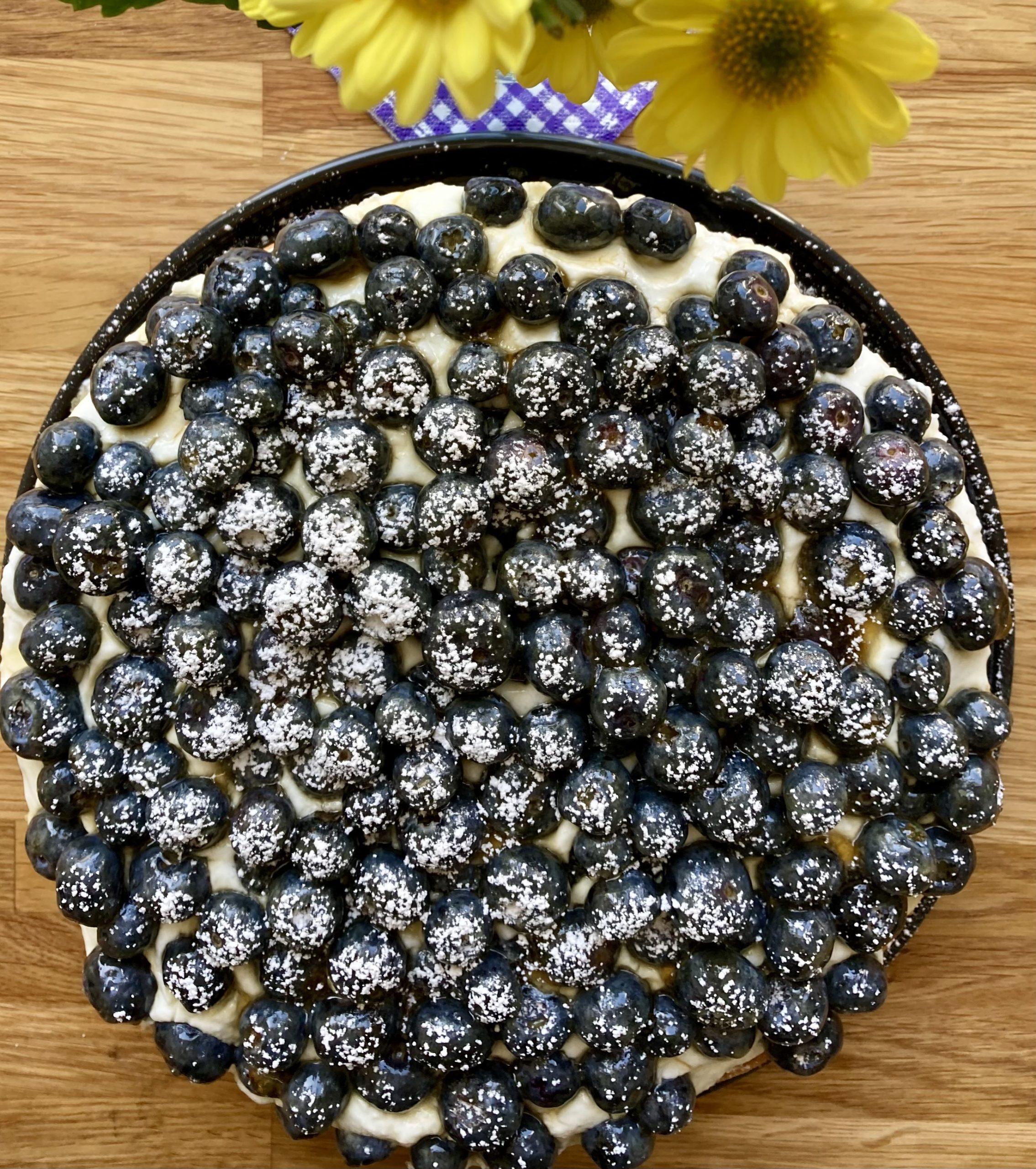 Martina's Fantasy Blueberry Cake